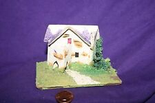 Antique Vintage Putz? Cardboard Made In Japan Christmas Lighted House C