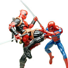 Marvel Legends Avengers X-Men Deadpool & Pizza Spiderman Action Figure 6 Inch