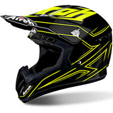 Casco Moto Cross Enduro MTB Airoh Modello SWITC SPANSER Yellow Gloss 2017 TG M
