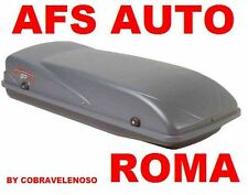 BOX AUTO AFS PORTAPACCHI PORTASCI BAULE G3 CARGO 430 LT.MADE IN ITALY