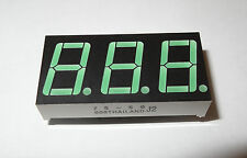 7-segment 3-digit, Common Anode Led Display. 1D2