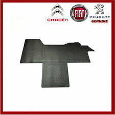 Genuine Peugeot Boxer / Citroen Relay / Fiat Ducato Front Rubber Floor Mat. New.