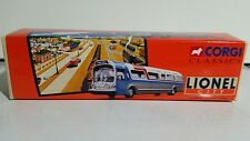 CORGI CLASSICS LIONEL CITY, #54401 GM 5301 FISHBOWL LIONEL CITY BUS SERVICES