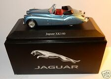 EDITIONS ATLAS JAGUAR XK 140 BLEU METAL 1954 1/43 IN BOX no CERTIFICAT