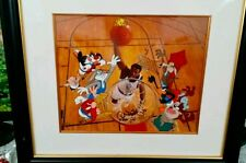 Warner Brothers Signed Patrick Ewing Cel THE LEGENDARY BIG MAN  Rare cell