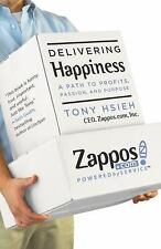 Delivering Happiness: A Path to Profits, Passion, and Purpose Tony Hsieh Books-G