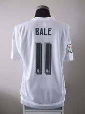 Gareth BALE #11 BNWT Real Madrid Home Football Shirt Jersey 2015/16 (XL)
