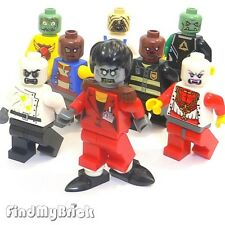 M720 II Lego 8x Zombie Dance Halloween Custom Ghost Michael Minifigures NEW