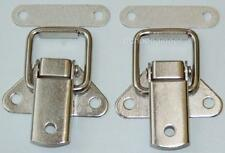 2 x placcati nichel Toggle catches 44mm Lungo