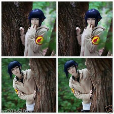 New cosplay fashion Hyuga Hinata Dark Blue Short Hair + free wig cap