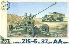 ZIS-5 TRUCK WITH 37MM AA GUN 1/72 PST72028