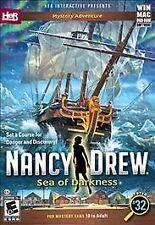 BRAND NEW Nancy Drew: Sea of Darkness (Windows/Mac, 2015)