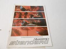 VINTAGE MUSICAL INSTRUMENT CATALOG #10135 - 1971 LUDWIG STANDARD DRUMS