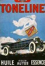 Art Poster Toneline Pour Auto  Oil Deco   Print