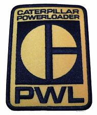 "ALIENS Movie CATERPILLER PowerLoader Logo 4"" Tall Embroidered PATCH"