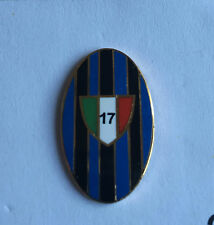"INTER FC PINS DI PRESTIGIO 17 SCUDETTO OVALE ""PINS 025"" clips (bottone)"