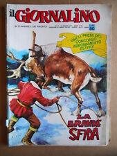 GIORNALINO n°23 1971 La Grande Sfida di Nevio Zeccara [G553]