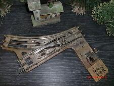 Märklin Spur 0 / elektrische Weiche / 0 R 8 / sehr selten / siehe Bilder   # 119