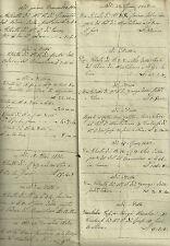 Annotazioni Tenuta di Montechiaro Podere Bracciolino Podere Fontana Siena 1841