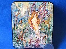 SMALL LACQUER SHELL Box Harold Gaze illustration Water Fairy BUTTERFLY Girl GIFT