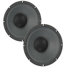 Pair Eminence Legend 1058 10 inch Lead Rhythm Guitar Replacement Speaker 8 ohm