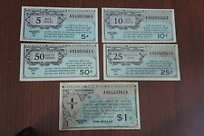 MPC 461 Lot Military Currency