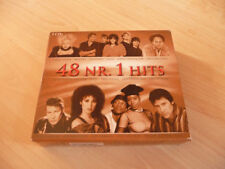 3 CD Box 48 Nr. 1 Hits: Johnny Logan Cheap Trick Martika Bros NKOTB Nena Markus
