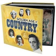 THE GOLDEN AGE OF COUNTRY DELUXE CD Boxed Set, 8 Discs TIME LIFE 2009