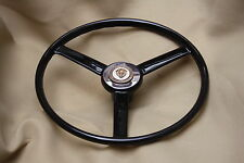 JAGUAR  C  TYPE  REPLICA  STEERING  WHEEL WITH INTEGRAL BOSS 15 INCH UNDERSIZE
