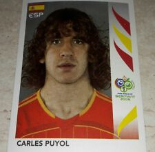 FIGURINA CALCIATORI PANINI GERMANY 2006 SPAGNA PUYOL ALBUM 06