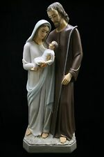 "31.5"" Holy Family Joseph Baby Jesus Mary Catholic Italian Statue Made in Italy"