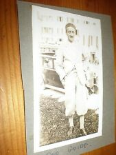 Old photograph Switzerland Lugano area tour guide c1931