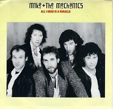 MIKE & THE MECHANICS  All I Need Is A Miracle 45 with PicSleeve  GENESIS