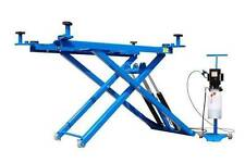 New Titan 6,000 LB Mid-Rise Scissor Lift with Free Adapters 110V