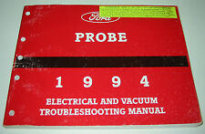 Werkstatthandbuch Elektric Service Manual Ford Probe Electrical and Vacuum 1994