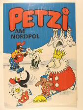 PETZI #  7 Petzi am Nordpol ( Carlsen, veränderte 1.Auflage von 1990 )