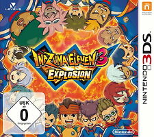 Inazuma Eleven 3 - Explosion - Nintendo 2DS / 3DS - NEU