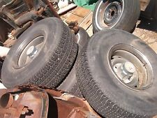 1967-72-87CHEVY TRUCK 4WD 6 LUG 15X8 GMC TRUCK RALLY, CAPS & 3 RINGS