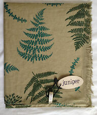 NEW 100% COTTON WOMENS FERN PRINT SCARF