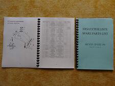 SPARE PARTS LIST MZ ETZ 125 150 German and English