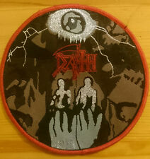 Death - Symbolic Patch ltd 100 handnumbered rare Obitaury Bolt Thrower Dismember