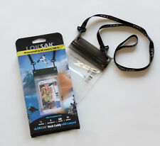 Aloksak 3.9 x 7 with Lanyard New Double Zipper Waterproof Airtight Bag LOKSAK