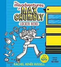 NEW The Misadventures of Max Crumbly 1: Locker Hero by Rachel Renee Russell Comp