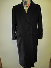 Genuine Vintage Burberry Prorsum Cashmere Wool  Raincoat coat UK 12 Euro 40