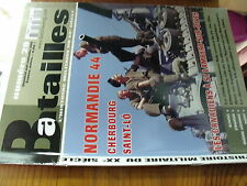 µ? Revue Batailles XXe siecle n°29 Cherbourg Saint Lô Canadien à St Lambert ...