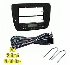 Car Stereo Radio Install Dash Kit Combo for 2000-2003 Taurus/Sable w/Elec AC