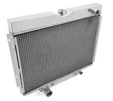 1967 1968 1969 Ford Fairlane 4 Row Core Champion Aluminum Radiator