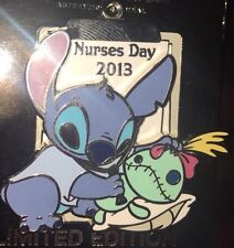 Disney Pin Le Nurses Day Stitch Nurse Scrump 2013 RN Le 1500 NWT NEW ON CARD