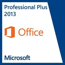Microsoft Office 2013 Professional Plus - Full Download & Key for 1 PC