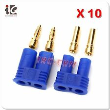 10 Pack: (10) Pair Male / Female (Device / Battery) EC2 Style Connector Sets